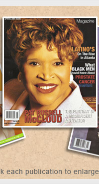 Pat Russell-McCloud in Images of Us Magazine